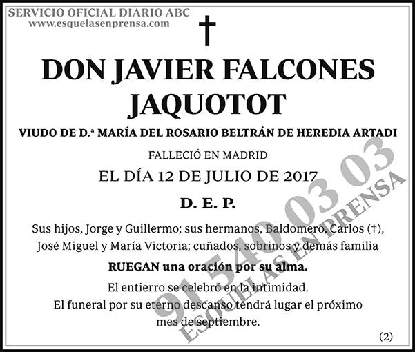 Javier Falcones Jaquotot